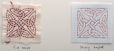 stitching sample