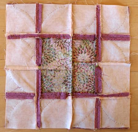 mosaic block reverse