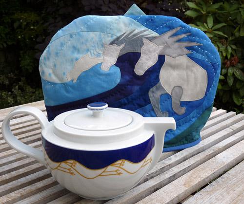 cosy with tea pot